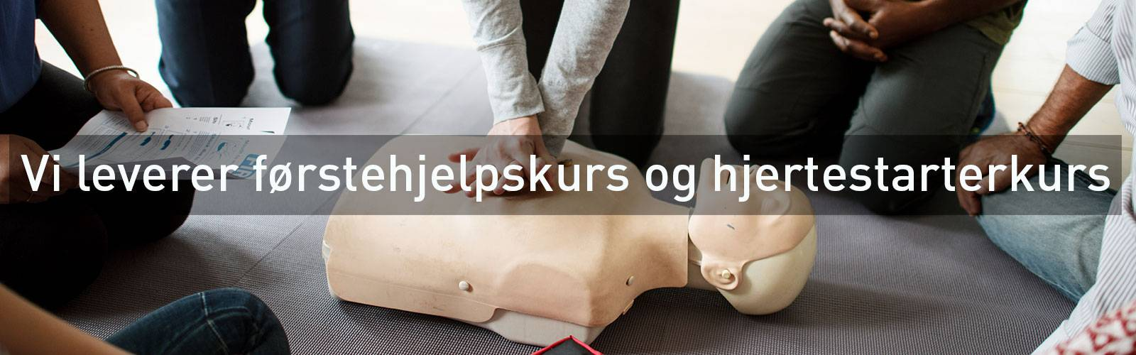 Førstehjelpskurs HLR kurs førstehjelpsutstyr
